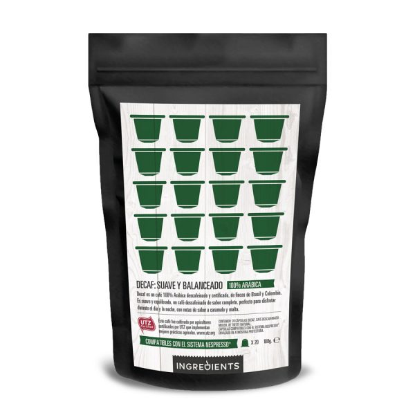 Coffee Decaf capsules