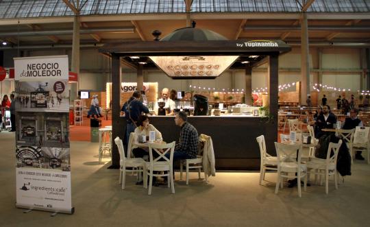 Ingredients Café at the Intu Asturias Shopping Center