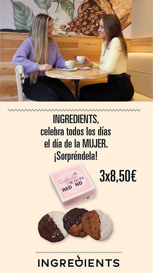 Promoción Marzo Ingredients Café