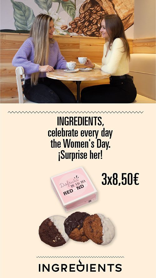 Ingredients march promotion